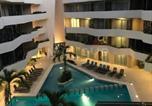Location vacances Playa del Carmen - Luxury Condo, Estudio, Cocina, Ac, Gym, Pool, Cine-3