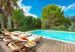 Location vacances Algaida - Randa Villa Sleeps 4 Pool Wifi-1