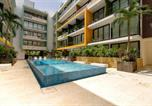 Location vacances Playa del Carmen - Studio close to 5th Av. w/ Amazing Roof Pool View, Gym, Spa and more!-1