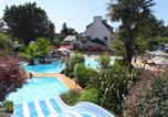 Camping avec Piscine Fouesnant - Camping Les Saules -1