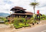 Hôtel Le volcan Tankuban Prahu - Oyo 2640 Rumah Kayu Cottage Syariah-2