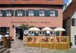 Hôtel Feuchtwangen - Dinkelsbühler Kunst-Stuben-1