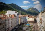 Hôtel Grenoble - Hôtel de l'Europe Grenoble hyper-centre-4