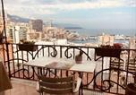 Location vacances Cap-d'Ail - Plein coeur de Monaco, à 300 mètres à pied du port de Monaco, 4 pièces, escaliers vue mer.-1