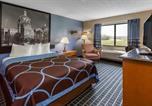 Hôtel Coralville - Super 8 by Wyndham Iowa City/Coralville-4