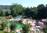 Camping avec Piscine Huanne-Montmartin - Camping Le Chanet-1
