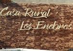 Location vacances Hontanar - Casa Rural los Enebros-2
