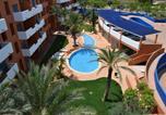 Hôtel San Juan de los Terreros - Aparthotel Parque Tropical-4
