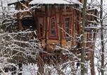 Location vacances Görlitz - Kulturinsel Einsiedel - Wintertime Treehouse-1