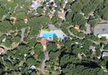 Camping avec Site nature Rochegude - Camping Les Cigales-1