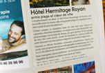 Hôtel Talmont-sur-Gironde - Brit Hotel Hermitage-3