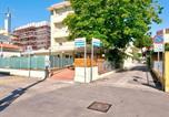 Location vacances Émilie-Romagne - Comfy Apartment near Rimini Adriatic Coast with a Sea View-1