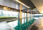 Location vacances quartier Makati - New! Panoramic Views at Gramercy + 2 Brs + Netflix-2