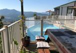 Location vacances Olmeto - Chalet d'une chambre a Olmeto avec magnifique vue sur la mer piscine privee jardin amenage-1