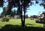Camping avec Hébergements insolites Villard-Saint-Sauveur - Camping La Pourvoirie des Ellandes-2