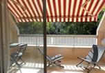 Location vacances Arcachon - Apartment Arcachon centre - studio cabine - 4 personnes - avec balcon exposé sud et parking individuel sécurisé 1-3