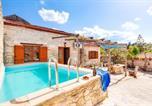Location vacances Βάμος - Deluxe Crete Villa Vereniki Villa Sea View Private Pool 4 Bdr Gavalochori-1