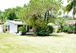 Location vacances  Polynésie française - Fare Tetorea - Tahiti - Arue - 3 bdr - beachfront, garden, Wifi - 8 pers-2