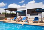 Location vacances Tías - 3 bedroom Villa Venus with private heated pool-4
