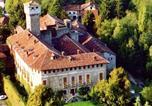 Location vacances  Province d'Alexandrie - Lovely Castle in Tagliolo Monferrato Amidst Vineyards-1