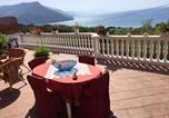 Location vacances Torraca - Apartment with one bedroom in Vibonati with wonderful sea view shared pool furnished terrace 500 m from the beach-3