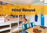Hôtel Alpes-Maritimes - Hotelf1 Villeneuve Loubet-4