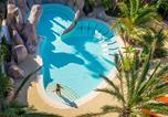 Camping avec Piscine Marseillan - Les Méditerranées - Camping Nouvelle Floride-2
