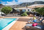 Location vacances Caleta de Famara - Villa Marquesa - Private pool-2