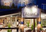 Hôtel Honfleur - L'Absinthe Hotel-3