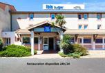 Hôtel Béziers - Ibis budget Béziers Est Mediterranée A9 / A75-1