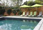 Location vacances Biot - Villa climatisée 4 chambres piscine jardin-4