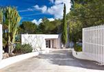 Location vacances Sant Josep de sa Talaia - Villa Can Hermanos: Wifi gratis, piscina privada y vistas al mar-3
