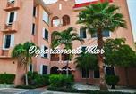 Location vacances Cancún - Departamento Mar-1