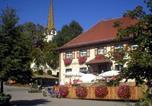 Location vacances Aulendorf - Gasthof zum Goldenen Kreuz-1