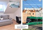 Location vacances Basel - Myhome Basel 3a46-1