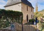 Location vacances Cajarc - Grande maison isolée au bord de la rivière lot et appartement isolé avec terrasse-1