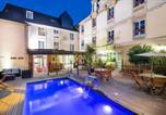 Hôtel Cahagnes - Hotel Du Luxembourg Et Restaurant Les 4 Saisons-1