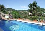 Location vacances Sant Cebria de Vallalta - Leisurely Villa in Sant Pol de Mar with Swimming Pool-1