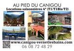 Location vacances Vernet-les-Bains - Au Pied Du Canigou - T2 Le Palais-3
