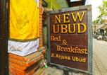 Hôtel Indonésie - New Ubud Hostel-2