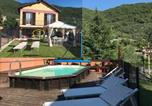 Location vacances Cesio - Casa Ginni con Piscina e giardino-1
