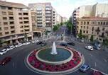 Location vacances La Vellés - Apartamentos Salamanca Puerta Zamora con salón y 2 dormitorios-1