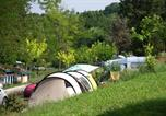 Camping avec Site nature Gondrin - Yelloh! Village - Le Lac Des 3 Vallees-4