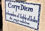 Hôtel Cucugnan - Chambres Table d'hotes Carpe diem-3