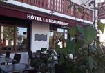 Hôtel Les Rousses - Hotel Pension Le Beauregard-3
