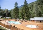Camping avec Club enfants / Top famille Savoie - Huttopia Bozel en Vanoise-1