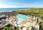 Camping 5 étoiles Frontignan - Camping Les Méditerrannées Beach Garden-1