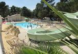 Camping avec Parc aquatique / toboggans Vaucluse - Camping La Pinède en Provence-1