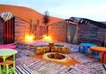Camping Maroc - Erg chebbi camel trek camp-1