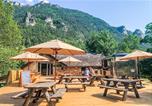Camping avec Site nature Saint-Urcize - Huttopia Gorges du Tarn-4